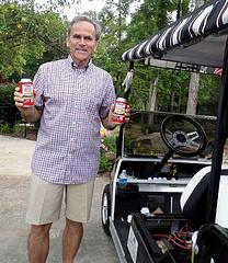 golf cart battery life