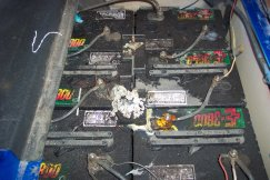 used golf cart batteries