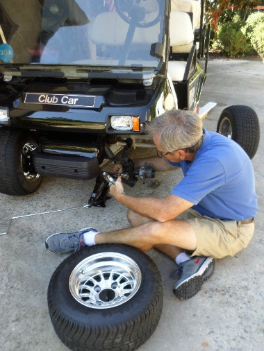 golf cart maintenance