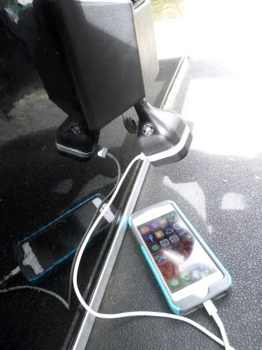 Golf Cart Accessory For Charging Your Cell Phone  Gps  Skycaddie Etc