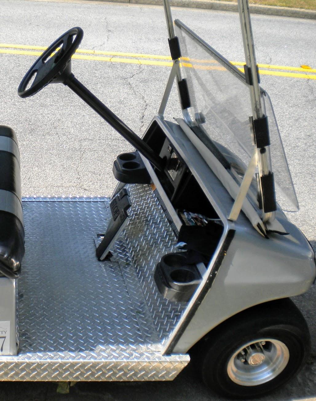 diamond plate golf cart floor mats