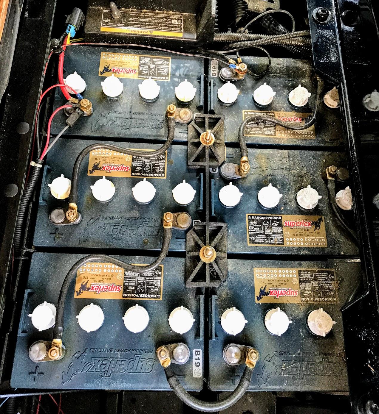 8 volt golf cart batteries