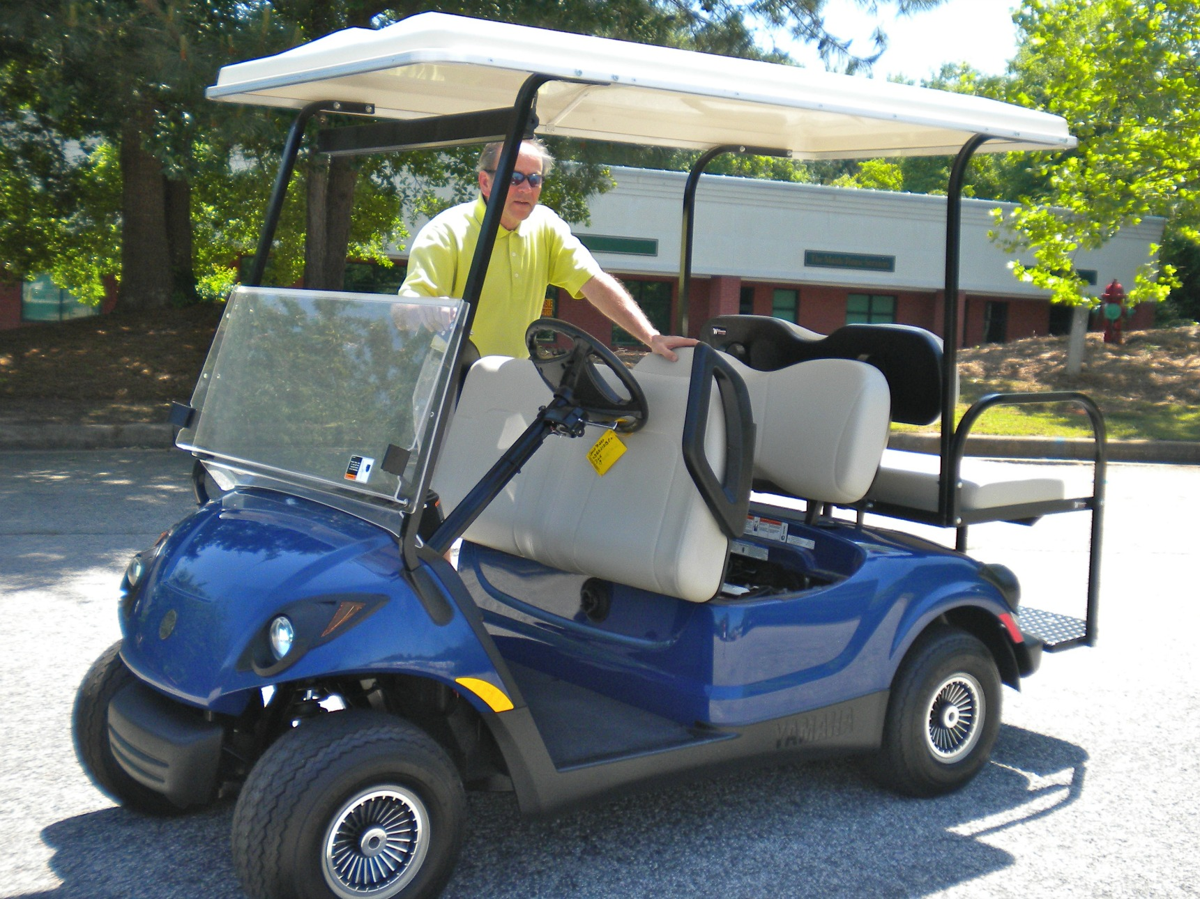 used electric golf carts