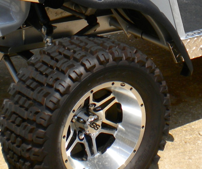 custom golf cart wheels and tires
