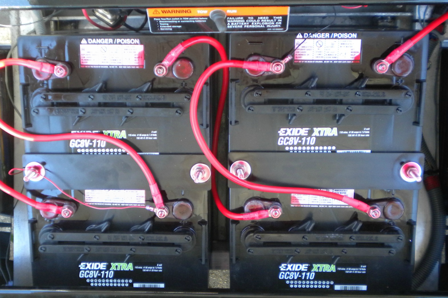 8 volt golf cart batteries