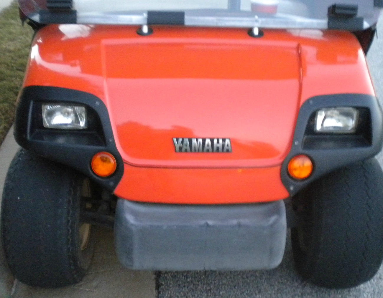 yamaha golf cart serial number