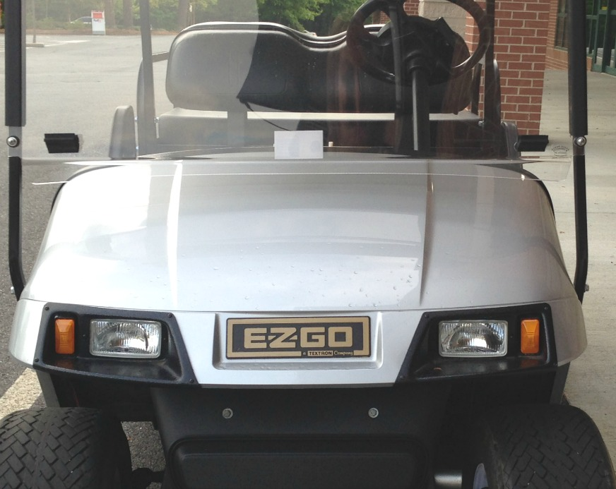 EZ GO golf cart serial number
