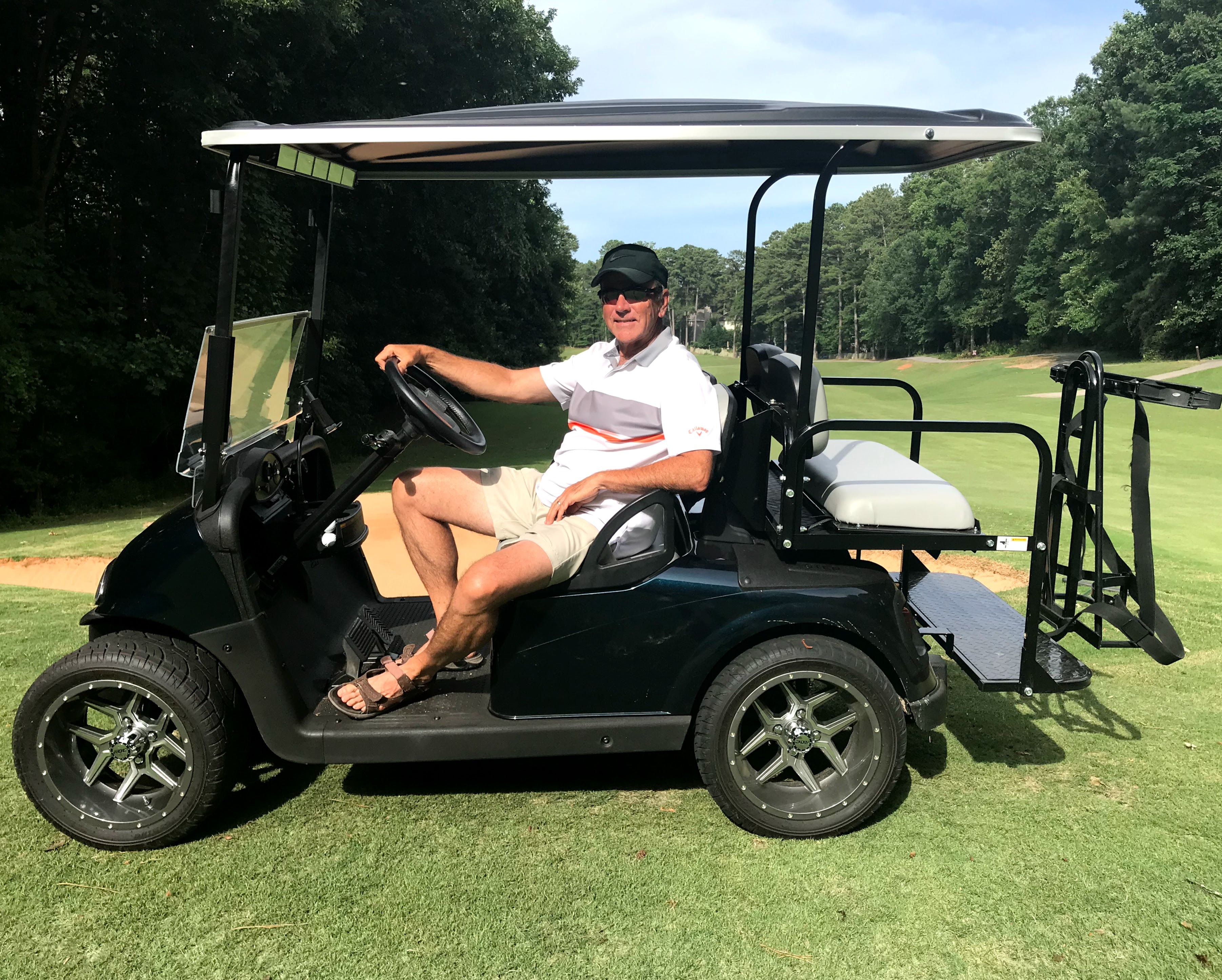 4 seat golf cart