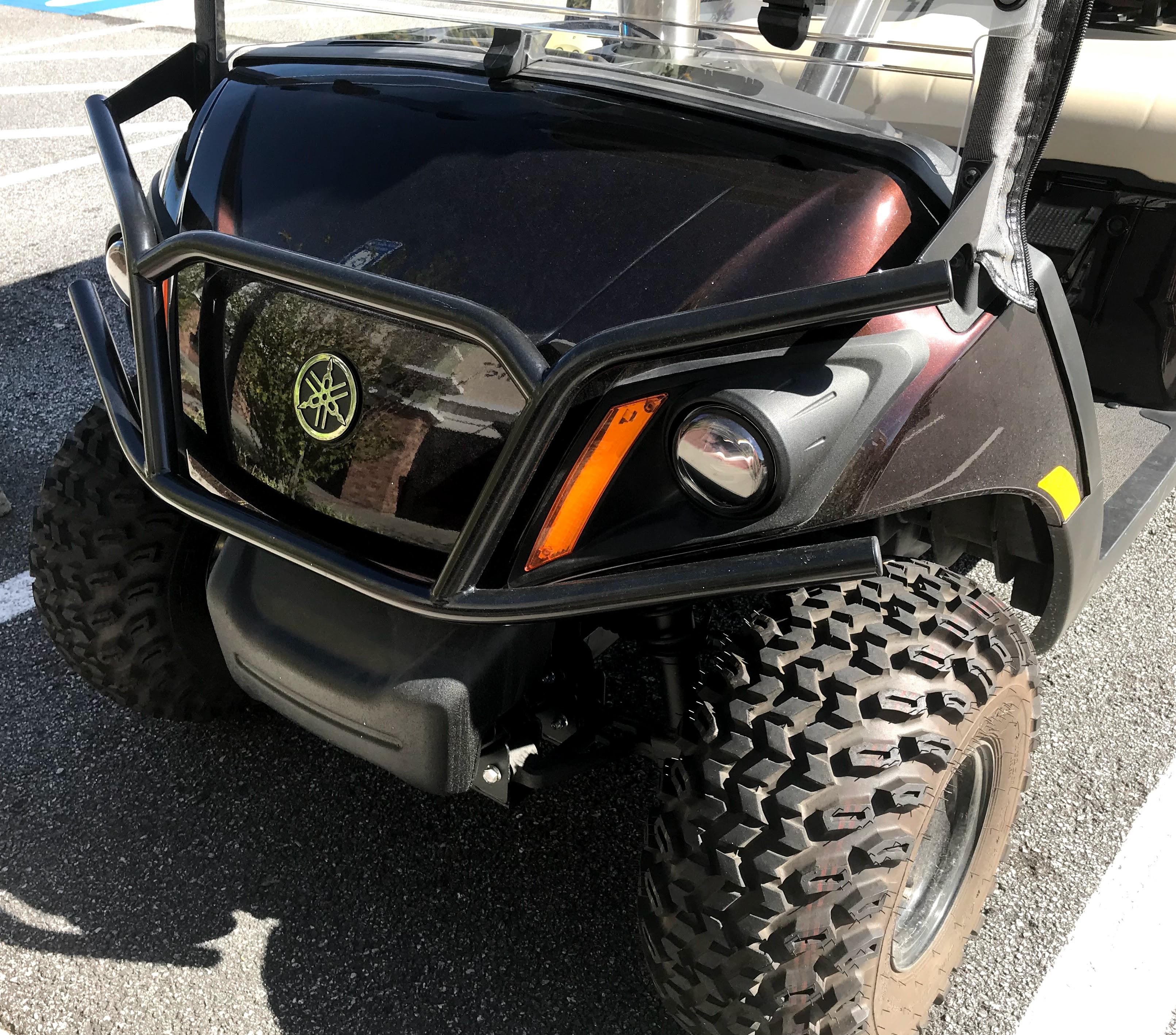 Yamaha golf cart brush guard