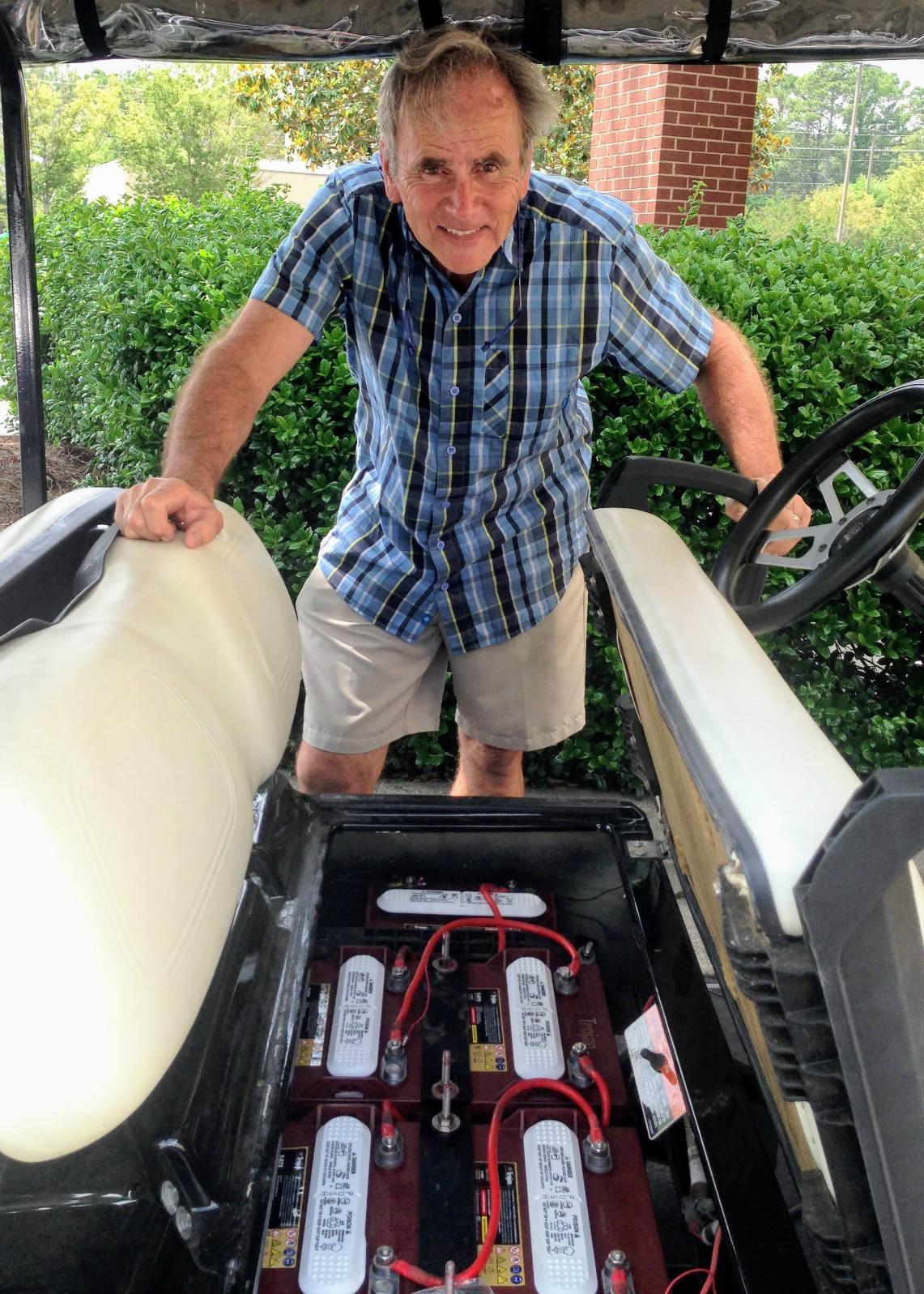 replacing golf cart batteries