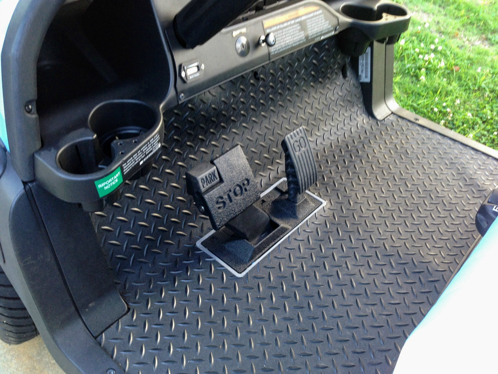 rubber golf cart floor mats