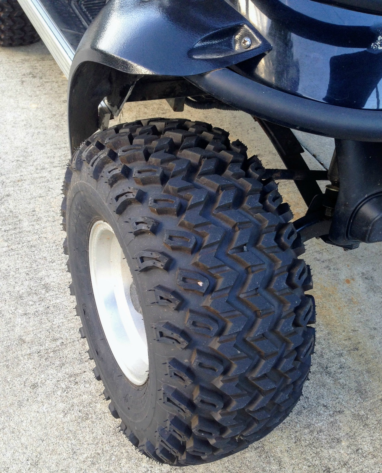 golf cart tire guide