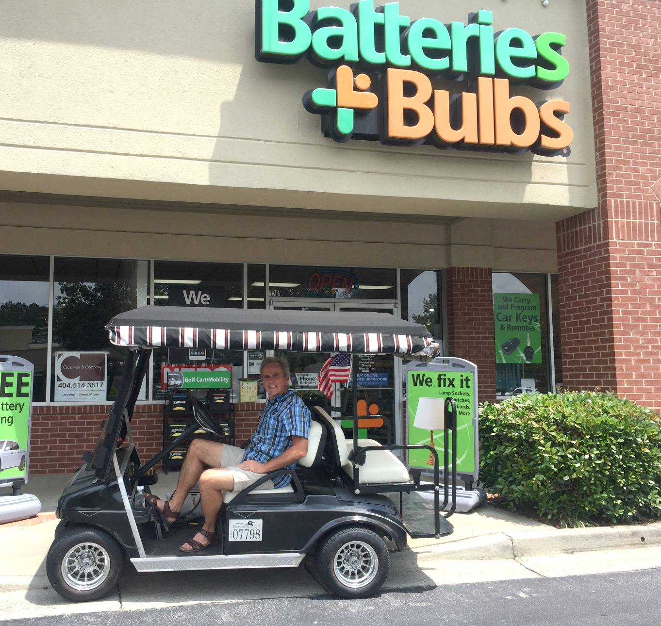 replacing electric golf cart batteries