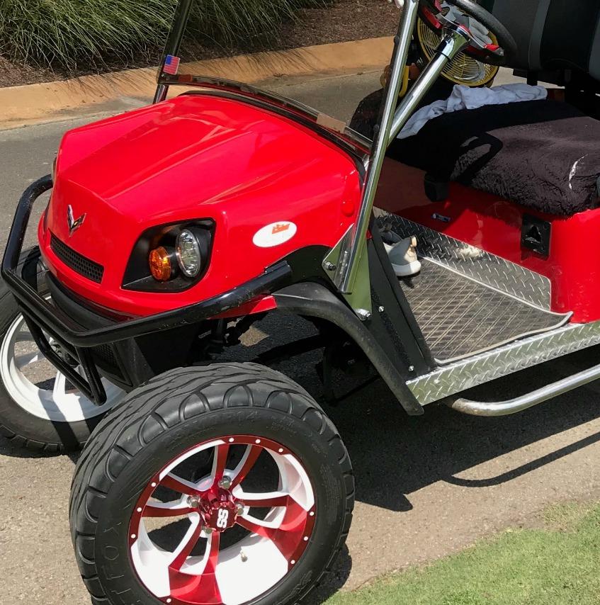golf cart diamond plate