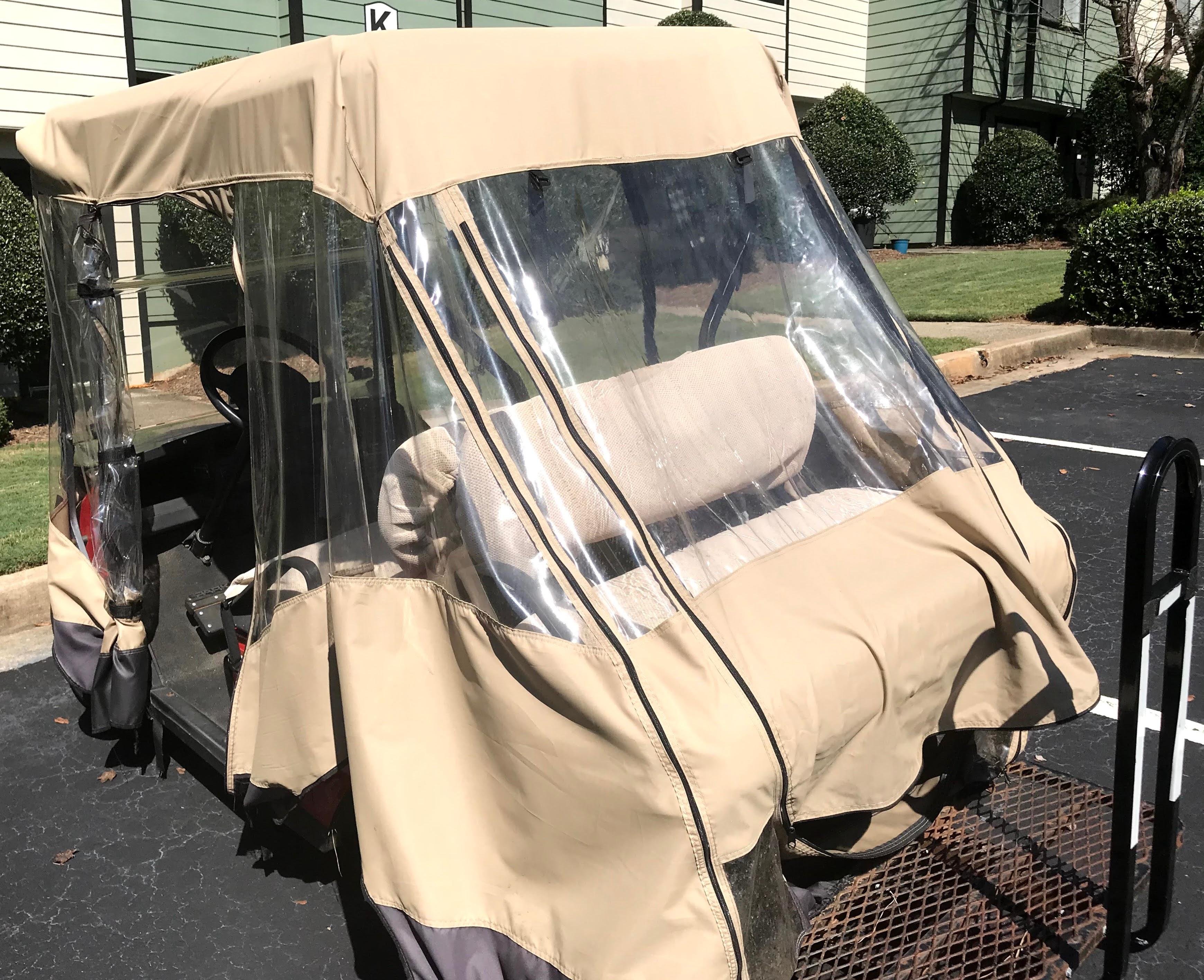 golf cart enclosure guide
