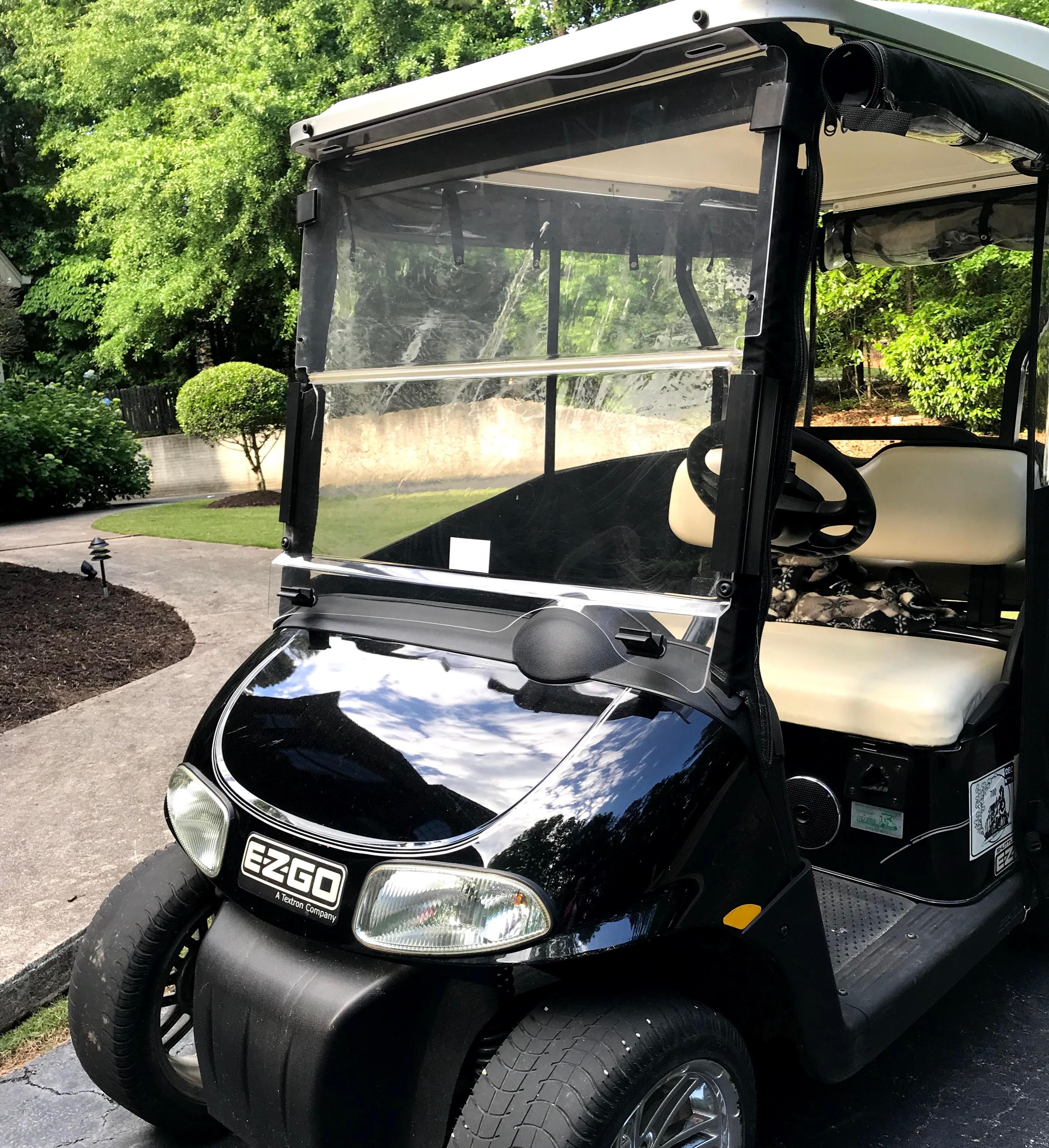 EZGO golf cart windshield