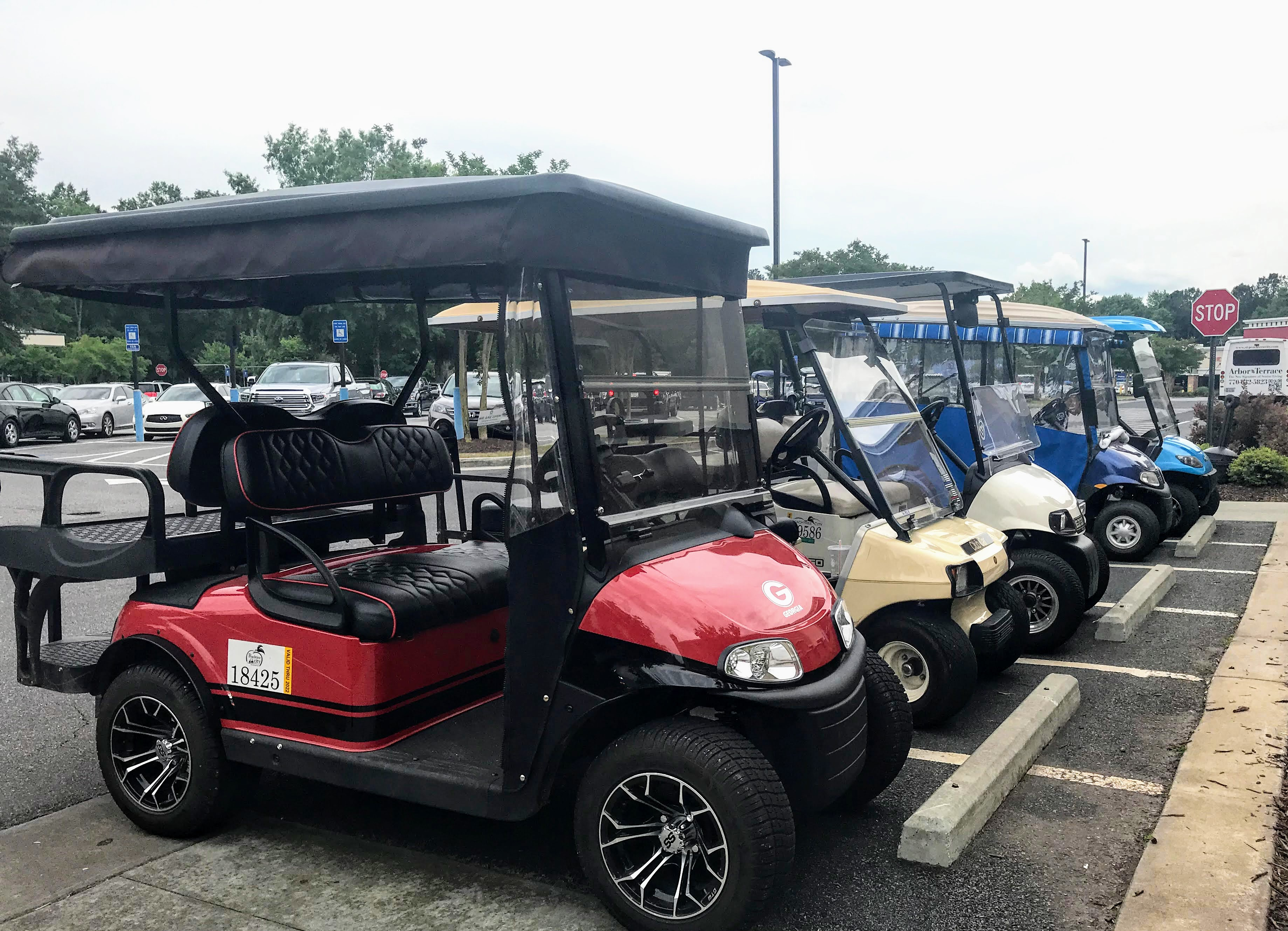 golf cart community in Peachtree City, Georgia