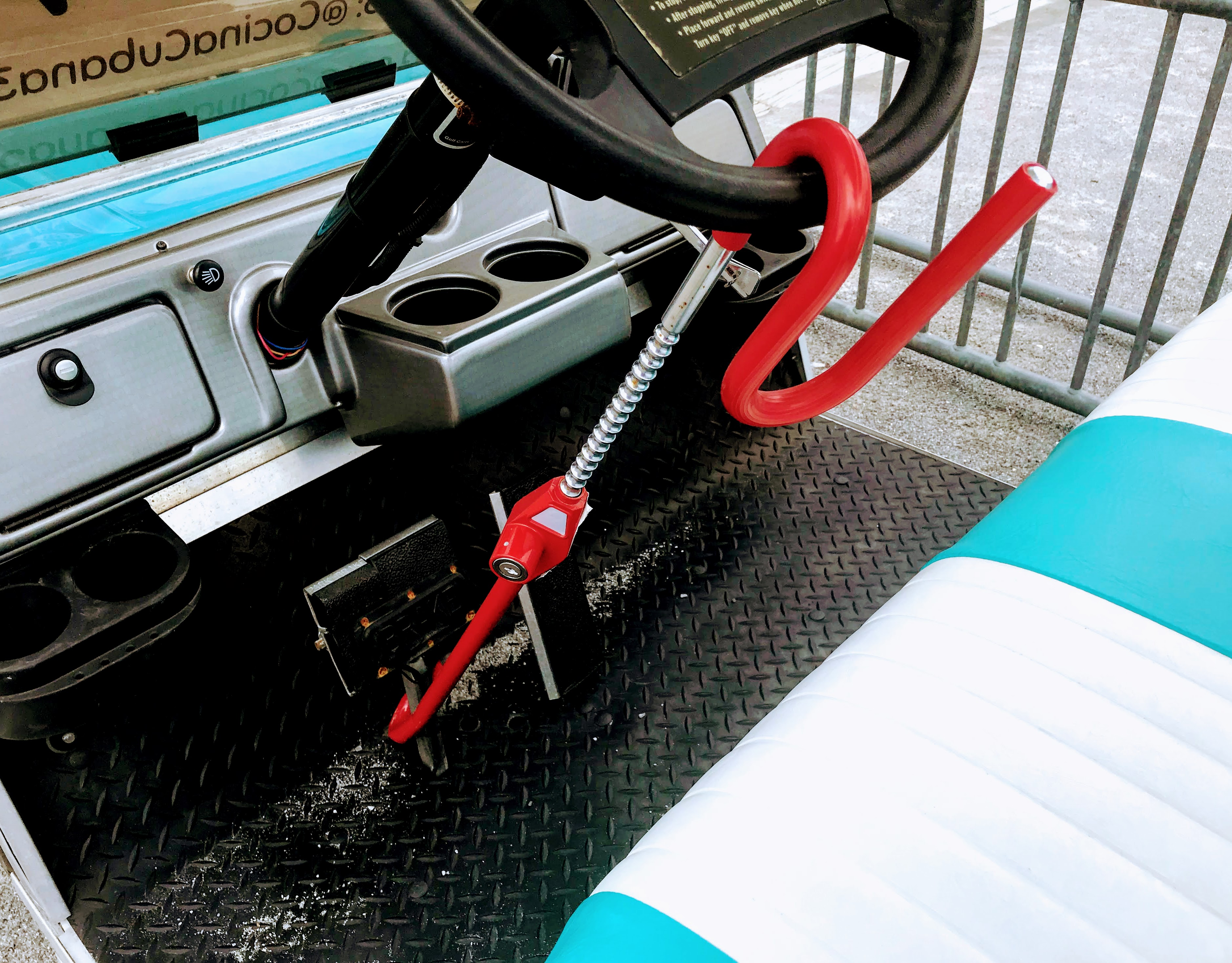 golf cart locks