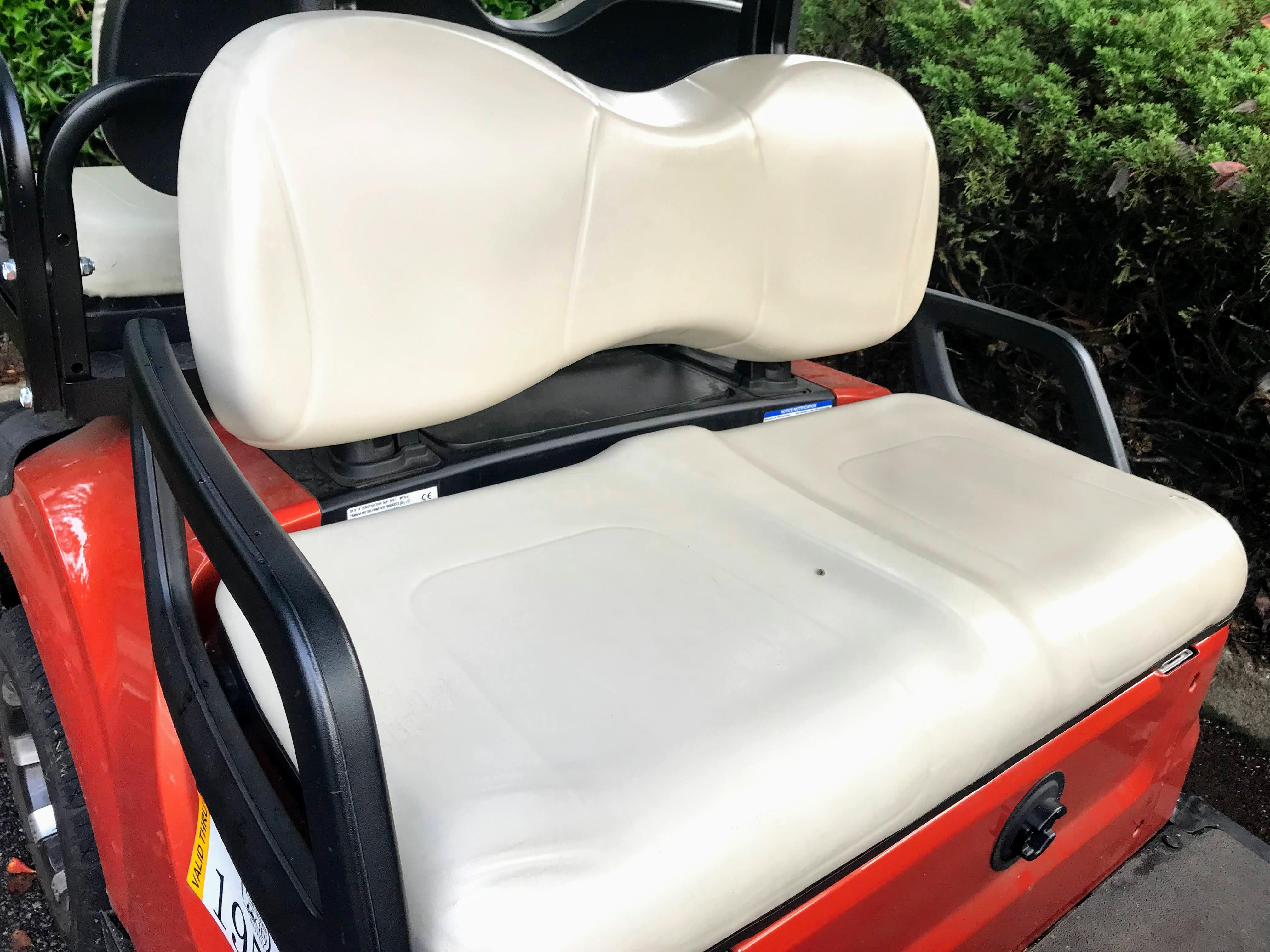 Yamaha golf cart seat covers