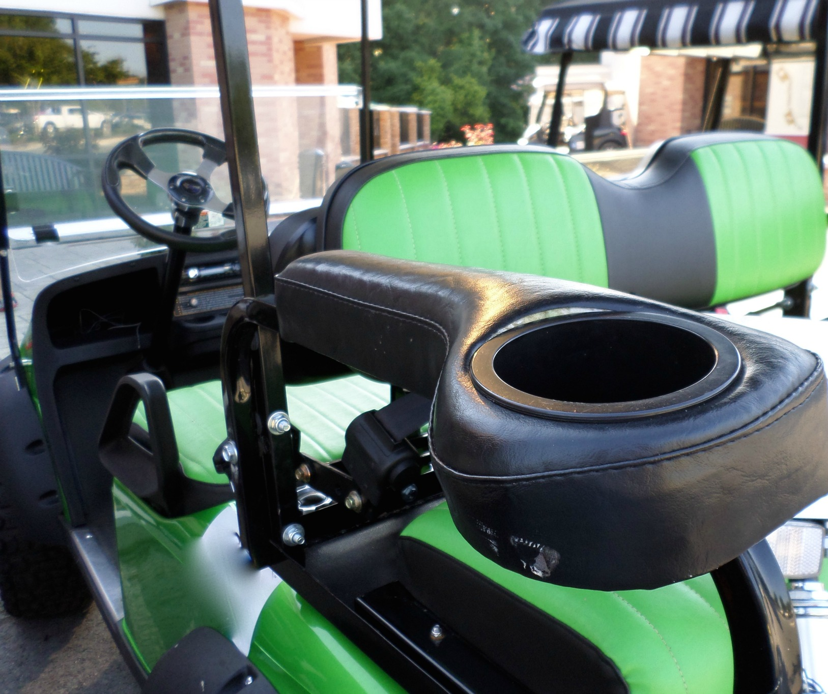 golf cart rear seat accessory