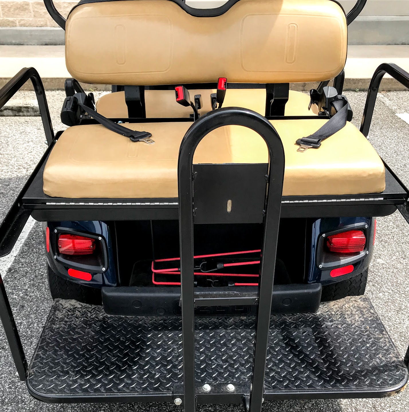 golf cart seat belts