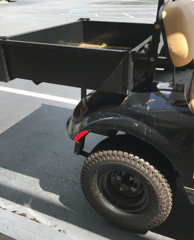 Yamaha golf cart accessories for hauling