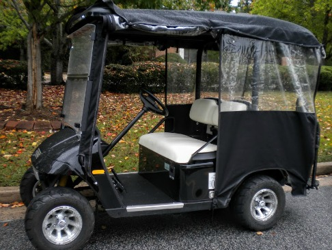Golf Cart Enclosure Your Guide To Keeping Dry And Warm