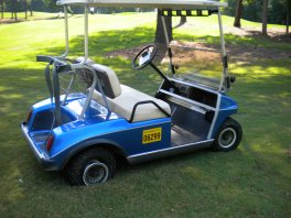 changing a golf cart tire