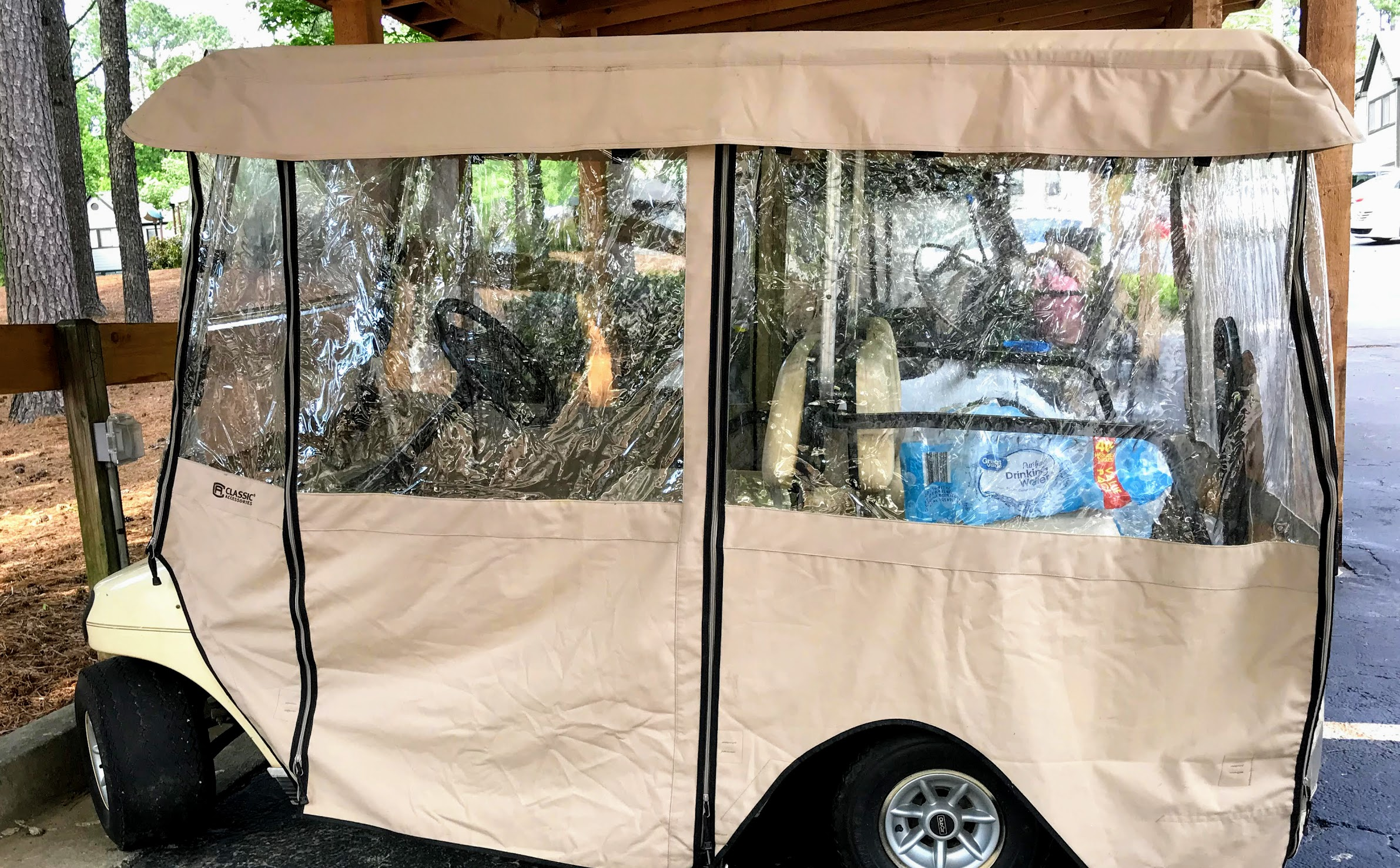 universal golf cart enclosures