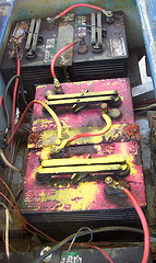 Golf Cart Battery Cables Corrosion And Proper Cleaning