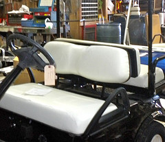 club car seat cover