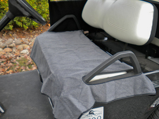warm golf cart seat cover