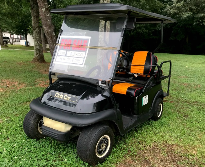 used club car golf carts