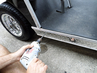 diamond plate rocker panel