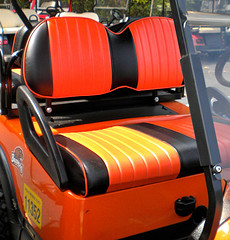 custom golf cart seat cover