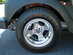 custom golf cart wheels