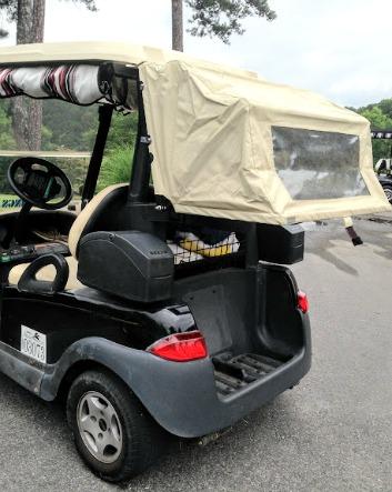 golf cart club canopy