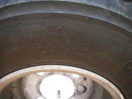 golf cart tire pressure