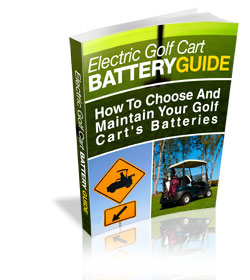 golf cart battery information