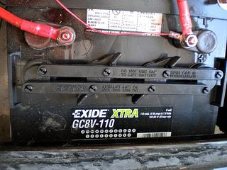 exide golf cart batteries