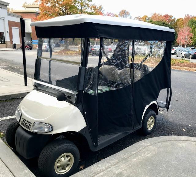 golf cart enclosures