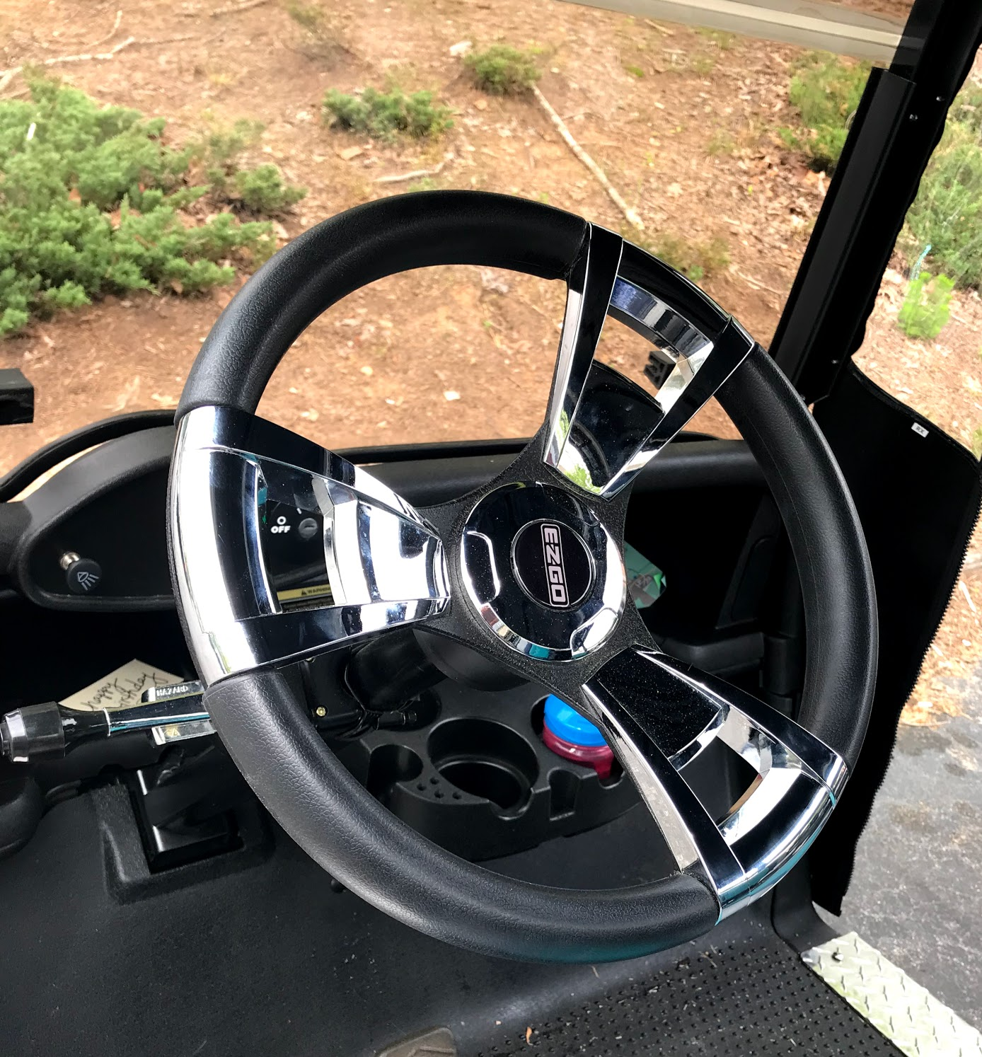 golf cart steering wheel options