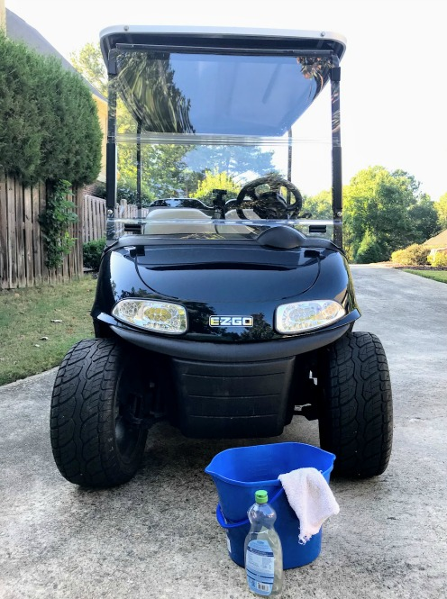 golf cart windshield cleaning do's and don'ts