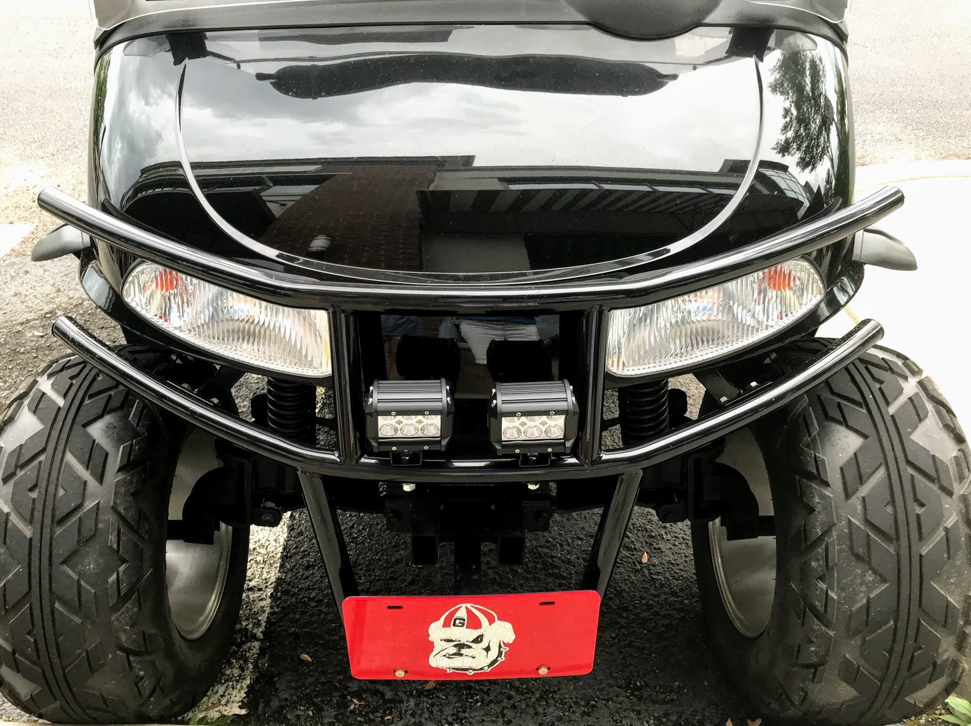 golf cart accessory for lighting