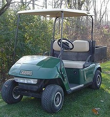 gas golf cart, gas powered golf cart