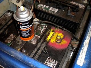 golf cart battery maintenance