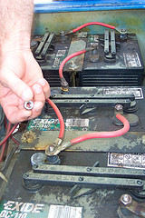golf cart battery wiring