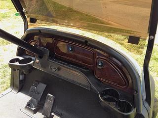 golf cart dash