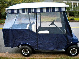 sunbrella golf cart covers