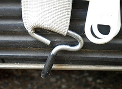 golf cart enclosure hook